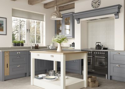 Treloy Dust Grey and Porcelain