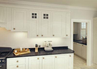 Cotswood Off White Stone Cream - Painted Fusions Kitchens