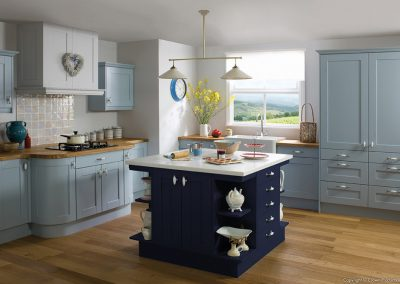 Midsomer Blue - Painted Fusions Kitchens