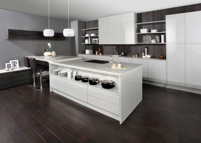 Saraya Gloss Ash - Caple Contemporary