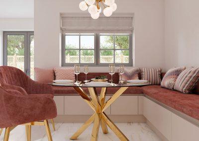 Aluma Linden Sand Grey Glazed Halifax Oak and Cashmere