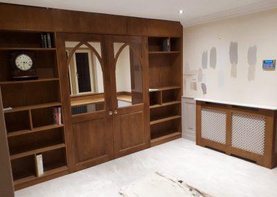 Oak Wall & Shelves