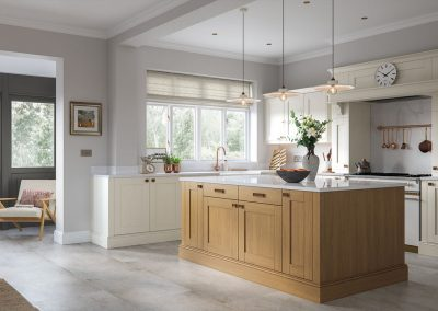 Origin Wickham Light Oak Alabaster