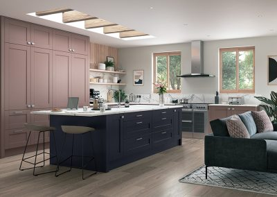 Origin Wickham Vintage Pink Slate Blue