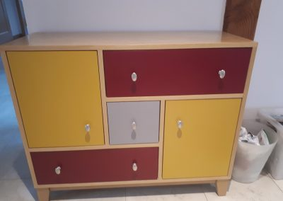 Painted Drawers bespoke joinery